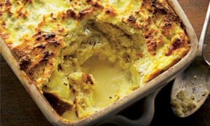 ricotta and rosemary bread pudding