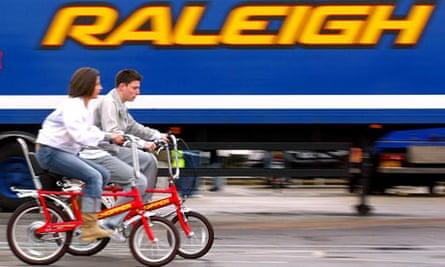 Raleigh Chopper relaunch, Nottingham, 24/2/04