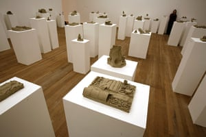 Fischli and Weiss: A room of clay sculptures at the Tate Modern