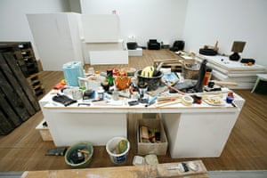 Fischli and Weiss: Installation view of a room at the Tate Modern, Untitled