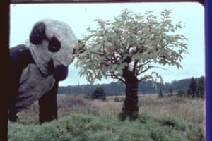 Fischli and Weiss: A still from The Right Way, 1983, 16mm film