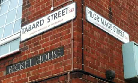 chaucer street signs