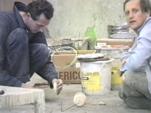 Fischli and Weiss: Peter Fischli and David Weiss in a still from Making Things Go