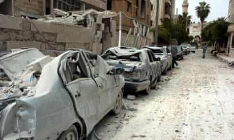 Idlib blasts close to UN observers' hotel