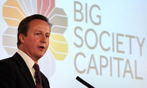 David Cameron launches the Big Society Capital fund