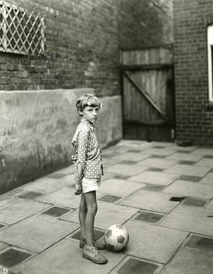 John Myers best shot: Young Boy with ball, 1974