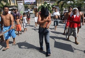 Holy Week: Holy Week penitents in the Philippines