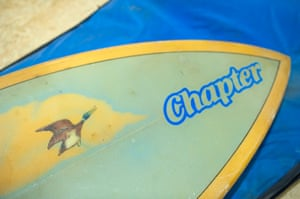 Museum of British Surfing: A Chapter surfboard