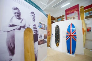 Museum of British Surfing: Inside the Museum
