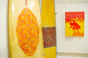 Museum of British Surfing: Boards in the Museum