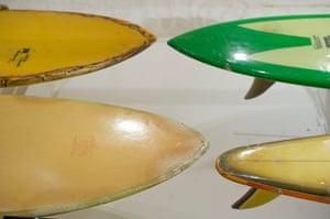 Museum of British Surfing: Fibreglass boards