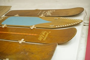 Museum of British Surfing: Wooden belly boards