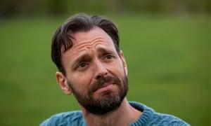 Dowling: 'I've grown a beard – but hair can't hide soulful, beseeching eyes'.