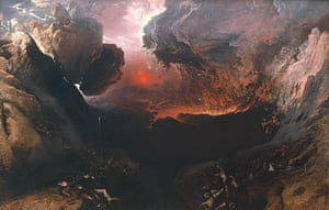 Tate collection: John Martin's painting The Great Day of His Wrath