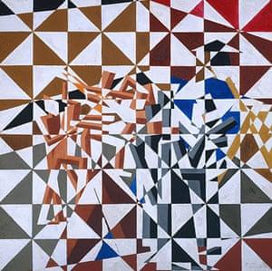 Tate collection: Ju-Jitsu by David Bomberg