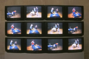 Tate collection: Violent Incident by Bruce Nauman