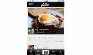 Platter food photography sharing app