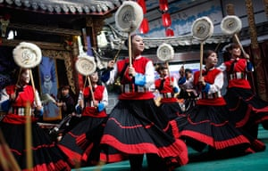FTA: How Hwee Young: A traditional folk dance is performed in a culture show