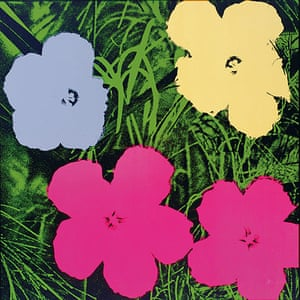 10 Best: Flowers by Andy Warhol