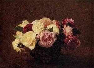 10 Best: Roses by Henri Fantin-Latour