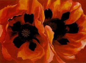 10 Best: Oriental Poppies by Georgia O'Keeffe