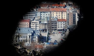 A former sniper's view of the Bosnian capital Sarajevo