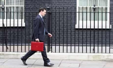 George Osborne in Downing St