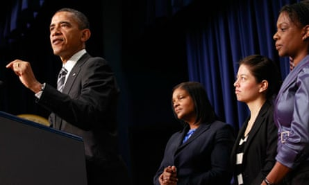 Barack Obama at a womena and the economy forum