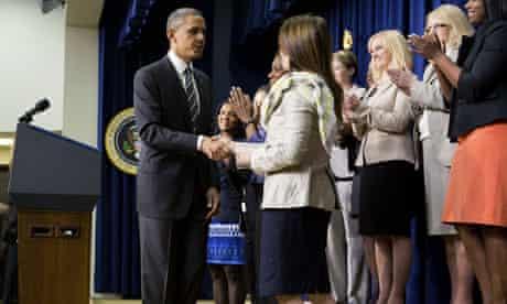 Barack Obama at women's forum