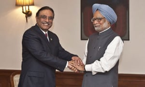 Pakistani president in first visit to India in seven years