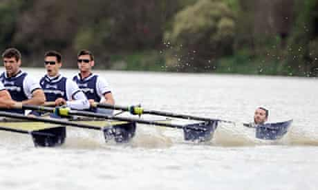 Trenton Oldfield swam into the paths of the boats in the Boat Race