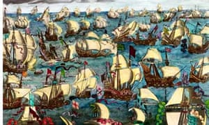 Spanish Armada fleet