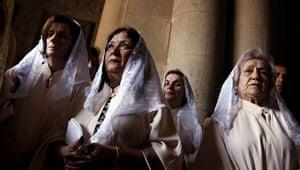Easter Sunday: Syriac Orthodox Palm Sunday Easter procession