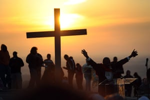 Easter Sunday: Easter Sunrise Services on Stone Mountain