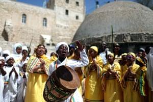 Easter Sunday: Orthodox Easter Celebrations in Jerusalem