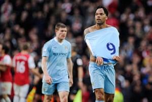 football: Arsenal v Man Utd