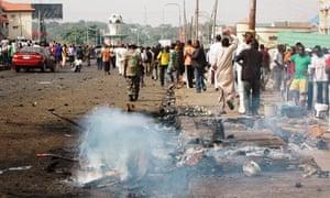 Suicide car bomb in Kaduna