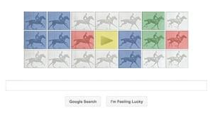 Google doodle Eadweard Muybridge