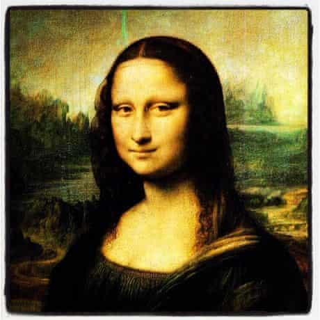 Mona Lisa Instagram