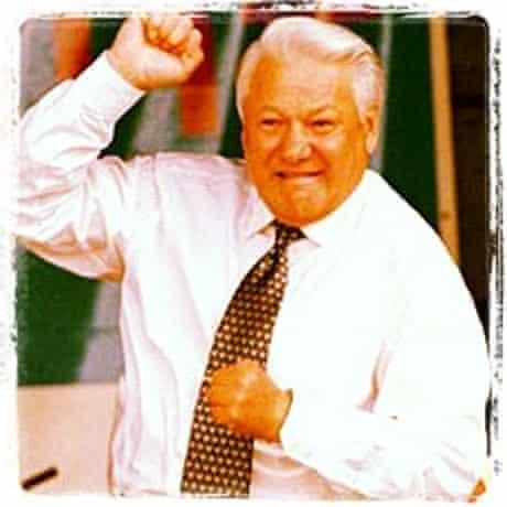 Boris Yeltsin Instagrammed