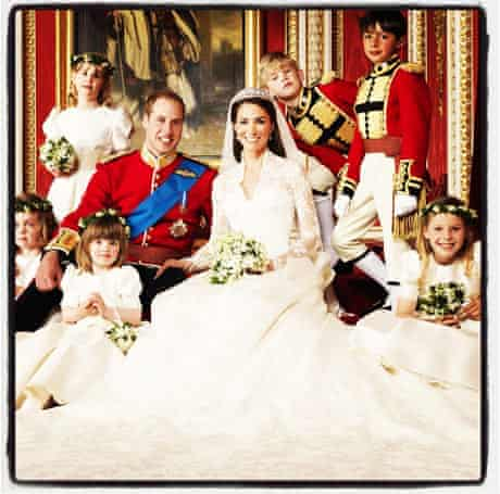 The Duke and Duchess of Cambridge, Instagrammed