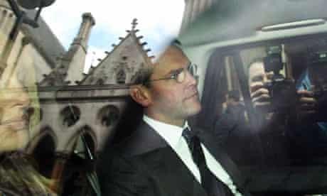 James Murdoch at Leveson inquiry