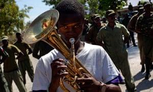 Haitian Army Parade