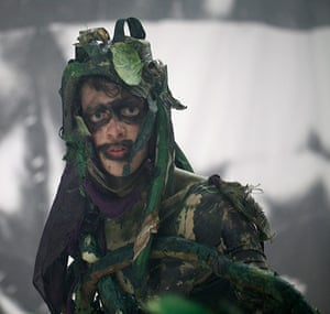 Turner nominees: A photograph from the performance Odd Man Out (2011) by Spartacus Chetwynd