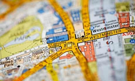 London A-Z street map