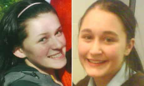 Neve (Niamh) Lafferty Georgia Rowe who died after jumping off the Erskine Bridge into River Clyde