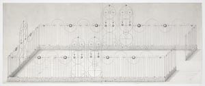Turner prize shortlist: Hell (2009), one of Paul Noble's large scale pencil drawings
