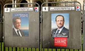 French election campaign posters