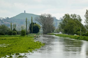 flooding in UK: The River Brue
