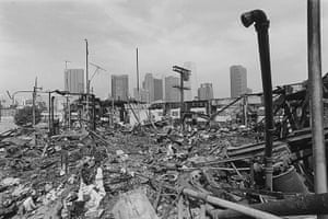 Rodney King riots: The Pico/Union area of Los Angeles, 29 April 1992